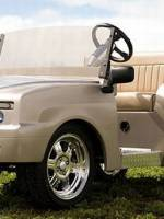 Pennwick Models Newest Luxury Golf Cart After Lamborghini