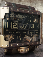 Devon Tread 1 Steampunk Limited Edition Watch sells for $25000