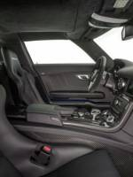 The Electric Mercedes Benz SLS AMG interiors