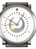 Och und Junior Moonphase Platina watch white dial option