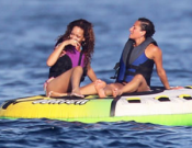 Rihanna has a fun ride