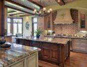 Massive gourmet custom kitchen