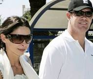 James packer with his partner