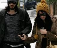 Katy Perry and her ex Russell Brand