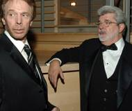 Jerry Bruckheimer and George Lucas