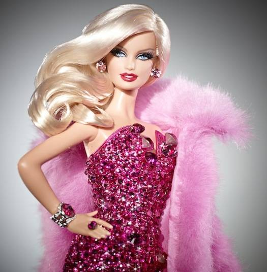 Pink Diamond Barbie