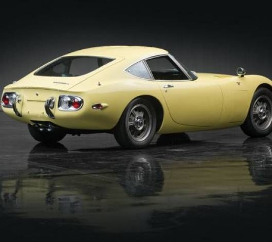 1967 Toyota 2000GT: Worlds Most Expensive Asian Car Sold For $1.2M