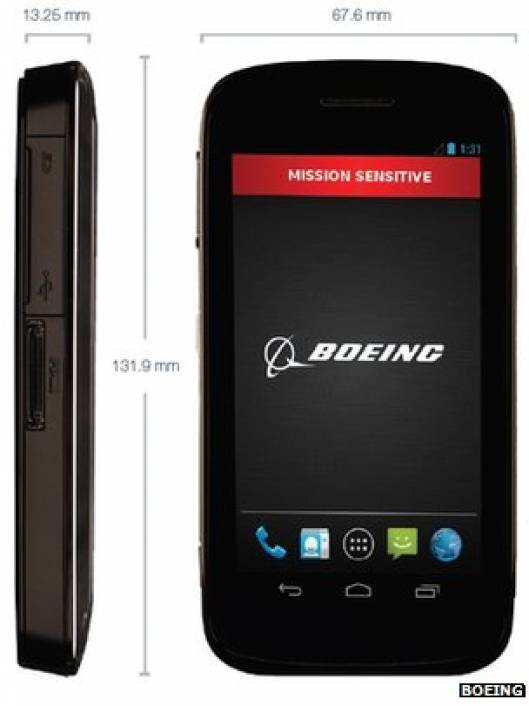 Boeing makes 'self-destruct' top secret smartphone