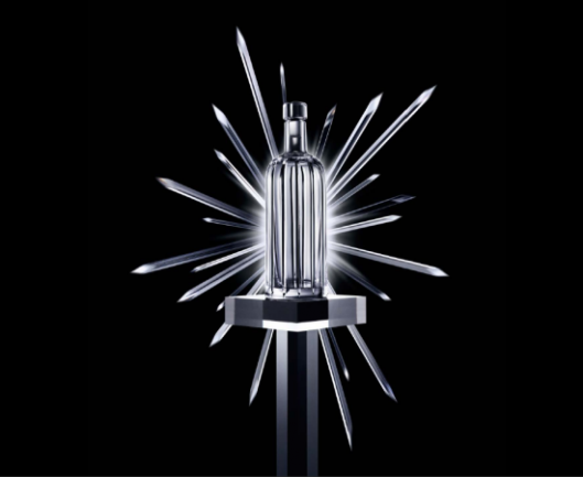 Absolut unveils its most luxurious vodka: Crystal Pinstripe bottle designed by Skogsberg&Smart