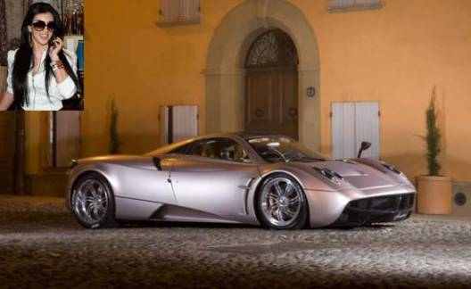 Kim Kardashian splurges $2 million on the first Pagani Huayra US Edition