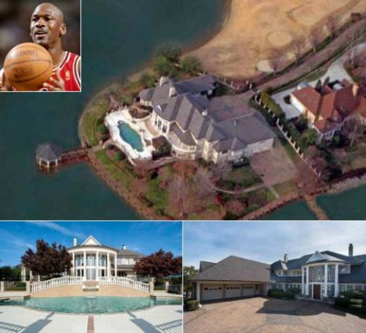 NBA Legend Michael Jordan's new $2.8 Million House in North Carolina has a Personal Dock