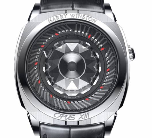 Harry Winston Opus XIII by Ludovic Ballouard defies the conventional rules of watchmaking yet again