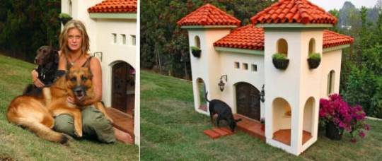 Rachel Hunter's luxury doghouse