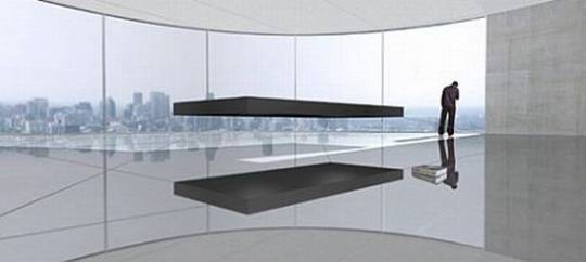 magnetic floating bed 1