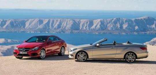 Dyamic Duo: The new Mercedes-Benz E-Class Coupé and Cabriolet will go on sale this March