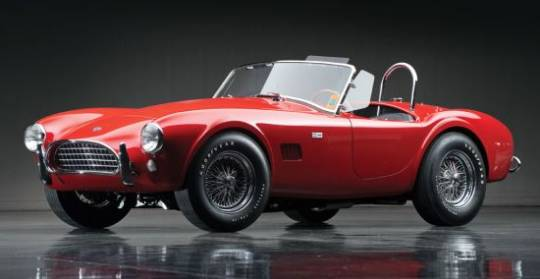 1963 Shelby 289 Cobra is listed in World Registry of Cobras & GT40s