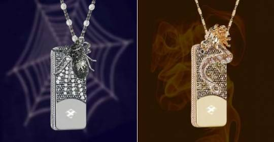 Anita Mai Tan $880,000 Dragon and Spider iPhone case