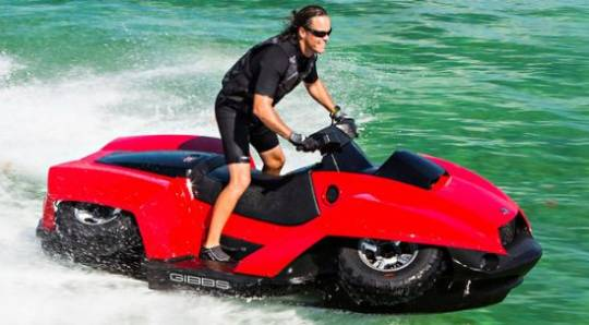 $40,000 BMW-powered Gibbs Quadski ATV is a badass toy for rich boys