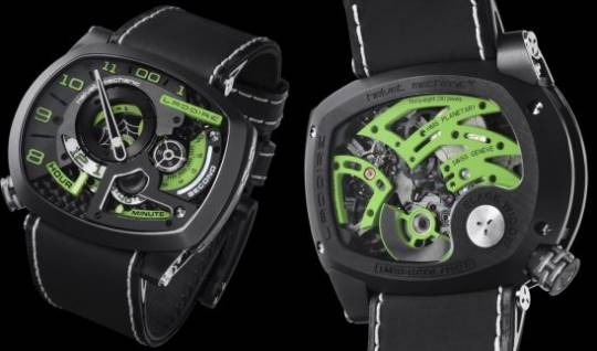 ladoire black widow mr green watch