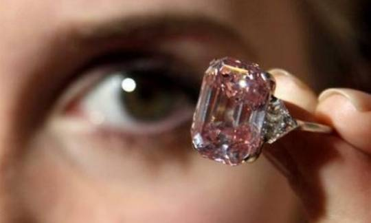 sothebys pink diamond