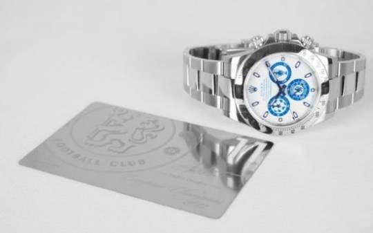 Custom Titan Black Chelsea FC Rolex Daytona marks London club's first-ever win of UEFA Champions' League