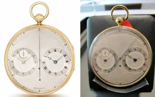 Breguet Montre `a deux movements No. 2667 pocket watch