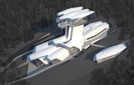 Zaha Hadid designed Capital Hill Residence