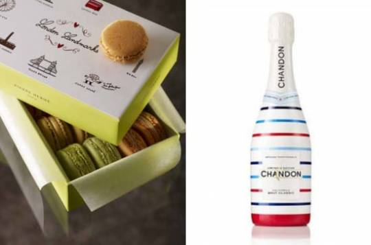 Chandon's limited edition sparkling wine and Pierre Hermé macaron for the London Olympics
