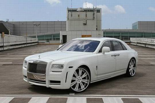 Cordero custom made Rolls Royce