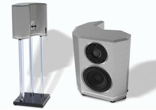 Crystal Cable Arabesque Mini Loudspeakers in Silver