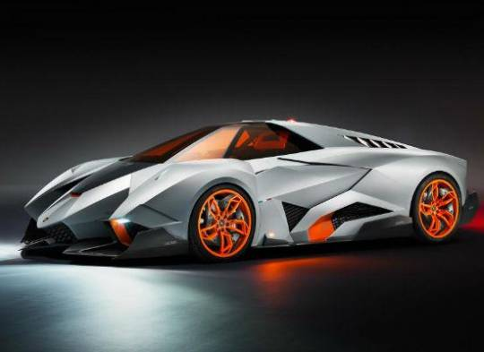 The Lamborghini 50th anniversary Egoista concept car