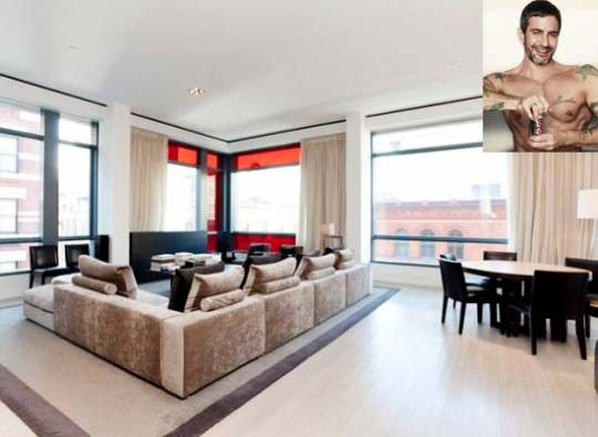Mark Jacobs' 40 Mercer Street Condo is Available for Rent at $37,500 a Month