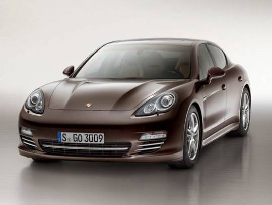 Porsche Panamera Platinum Edition go on sale in 2013