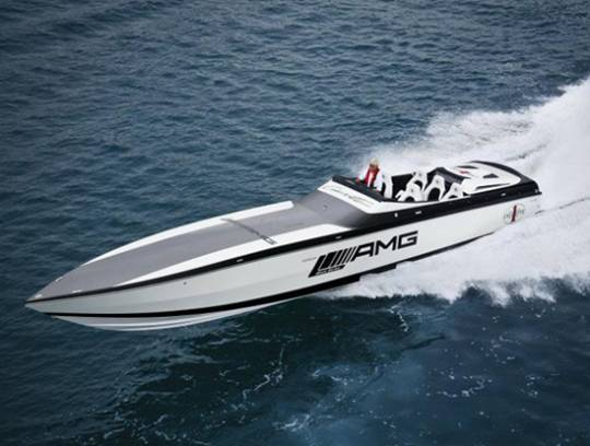 Cigarette 50- Marauder racing boat