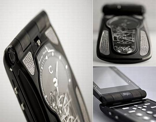 Celcius LeDIX Eternel phone watch closeups