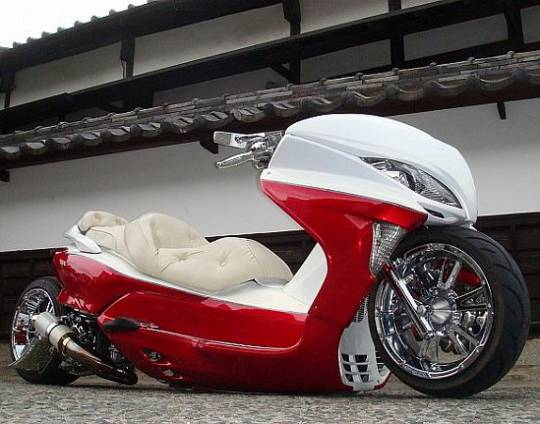 japanese custom scooter 1
