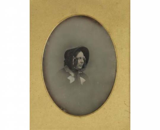 Photographic portrait of Charles Dickens wife, Catherine