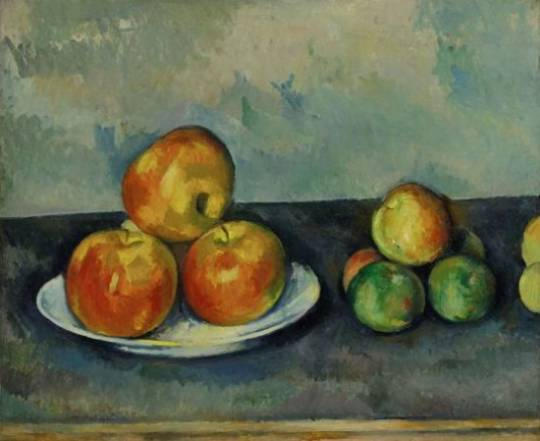 Les Pommes by Paul Cezanne was known to have been made during 1888-90