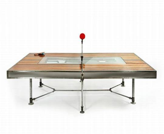 Pingtuated Ping Pong table