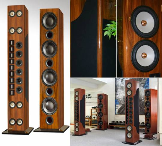 NOLA Grand Reference VI speakers