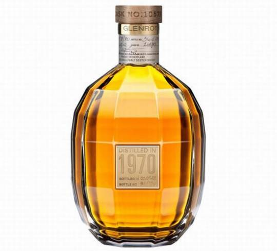 Glenrothes 1970 Extraordinary Cask whiskey sells for $5,000