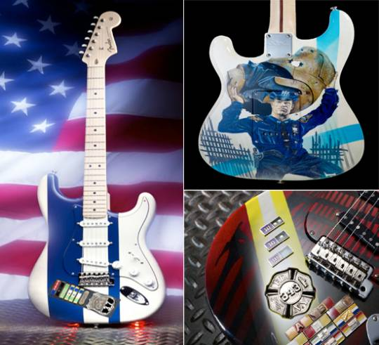 Tribute to Heroes Edition guitars