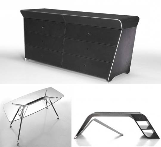 Aston Martin Furniture collection desks