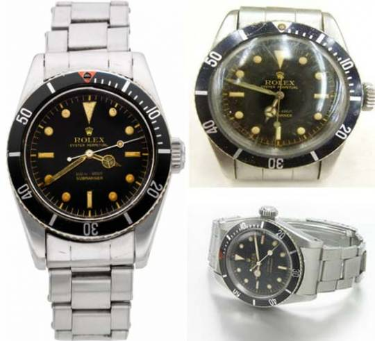 James Bond Rolex Submariner