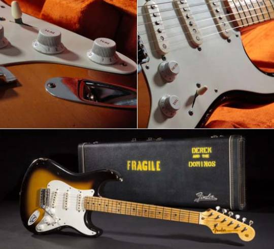 "Fender Custom Shop Eric Clapton ""Brownie"" Tribute Stratocaster"