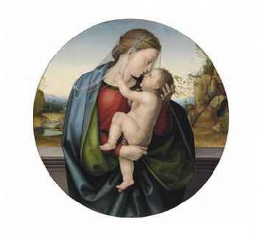 Madonna and Child by Bartolommeo