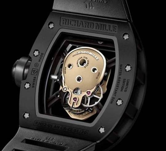 Richard Mille RM 52-01 Skull watch will also be limited to just 30 pieces worldwide