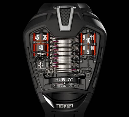 Hublot La Ferrari Mp-05 Tourbillon watch to go with the LaFerrari supercar
