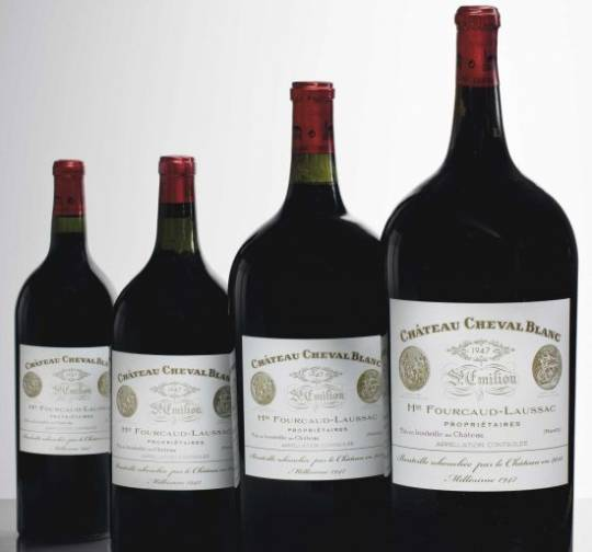 Bordeaux rules at Hong Kong auction with 1947 Chateau Cheval Blanc bottles sold at $84,000