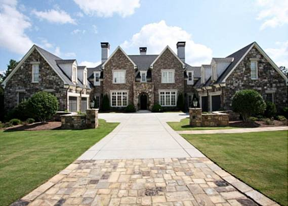 photo: house/residence of friendly 16 million earning Atlanta, GA, USA-resident